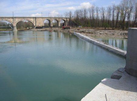 lavori centrale idroelettrica ponte san giovanni