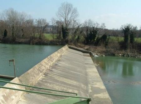 sbarramento impianto ponte felcino